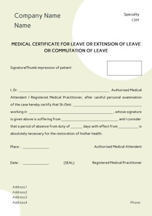 Custom medical certificates printing online starting at rs design by printvenue spiritdancerdesigns