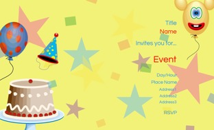 children birthday invitation cards personalized kids invitations