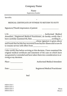 Custom medical certificates printing online starting at rs design by printvenue spiritdancerdesigns Choice Image