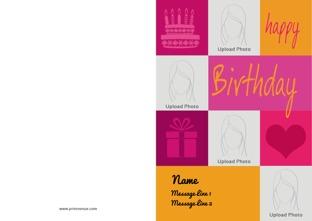 happy birthday cards birthday invitation or greeting cards