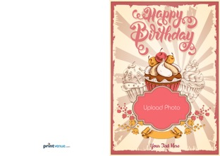 Happy birthday cards birthday invitation or greeting cards design by printvenue bookmarktalkfo Image collections