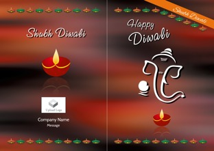 buy customized diwali greeting cards card designs online deepavali greetings happy diwali greeting card designs printvenue - Create Greeting Cards Online