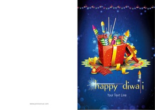 Buy Customized Diwali Greeting Cards Card Designs Online