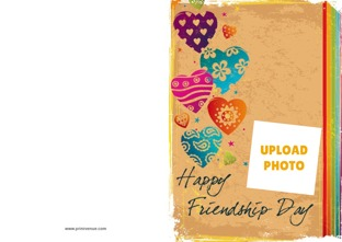 Personalize friendship cards online greeting cards for friendship day design by printvenue m4hsunfo