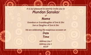 Buy Mundan Invitations In Bulk Personalized Invitations