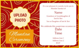 Buy mundan invitations in bulk personalized invitations online design by printvenue stopboris Gallery