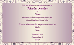 Buy Mundan Invitations In Bulk Personalized Invitations Online