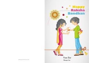 photo regarding Raksha Bandhan Printable Cards known as Raksha Bandhan GreetingsRaksha Bandhan Playing cards