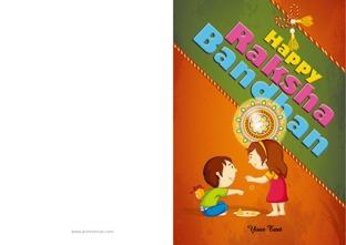 graphic about Rakhi Cards Printable referred to as Raksha Bandhan GreetingsRaksha Bandhan Playing cards