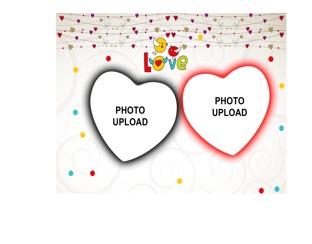 Love Photo Frame|Create Your Love Photo Frame Design Online