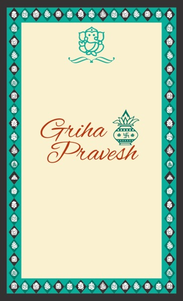 Griha pravesh invitationsev gpi n13 invdgriha griha pravesh invitationsev gpi n13 invdgriha praveshhomehousehouse warming ceremonyinvitation stopboris Image collections