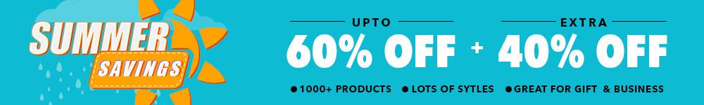 Summer Saving | Upto 60% + Extra $40% Off...