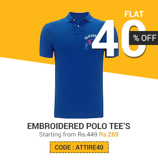 Embroidered Polo Tshirts