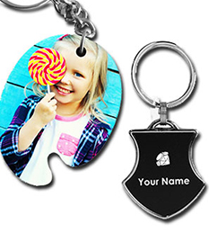 Photo & Engarved Key Chains