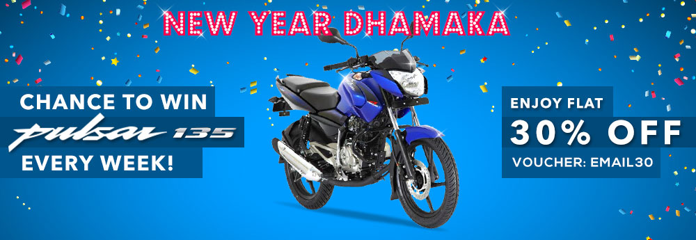 Chance To Win Pulsar 135cc