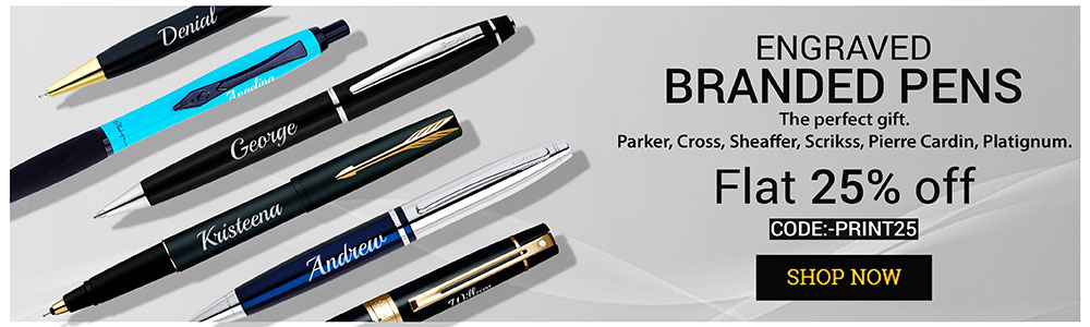 printvenue - Flat 20% Off on Personalized Pens