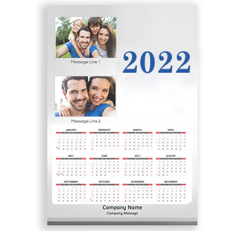 Customized Wall Calendar 2016 Personalized Poster Printing India Free 100 Business Cards