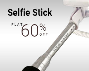 Avail Flat 60% OFF on Selfie Sticks