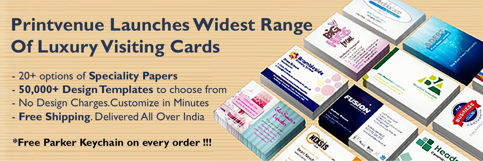Printvenue Indias 1 Free 100 Business Cards