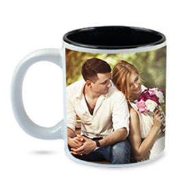 Duotone Photo Mug Black